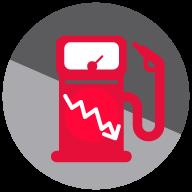 Reduce el consumo de gasolina